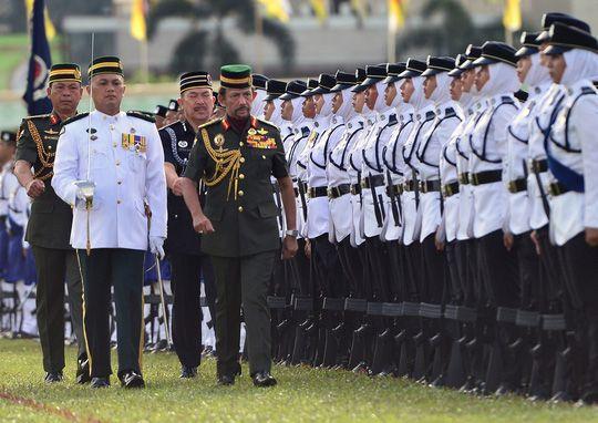 Quốc vương Brunei Hassanal Bolkiah. Ảnh: Reuters