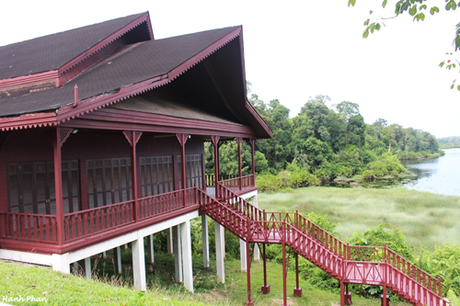 Khu sinh thái Merimbun là một trong số khu vườn di sản Asian. Ảnh: Hạnh Phan