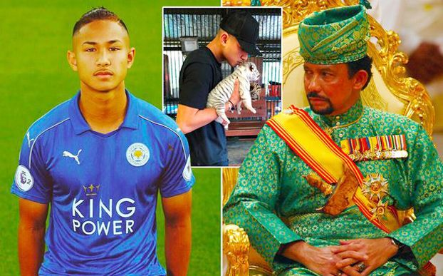 Faiq Bolkiah là cháu ruột của Quốc vương Brunei - Hassanal Bolkiah