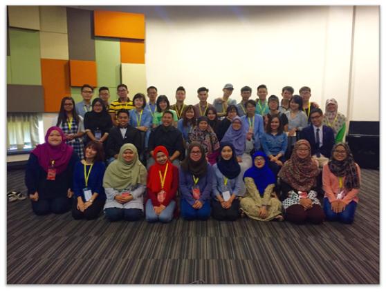 Sinh viên UBD và du học sinh