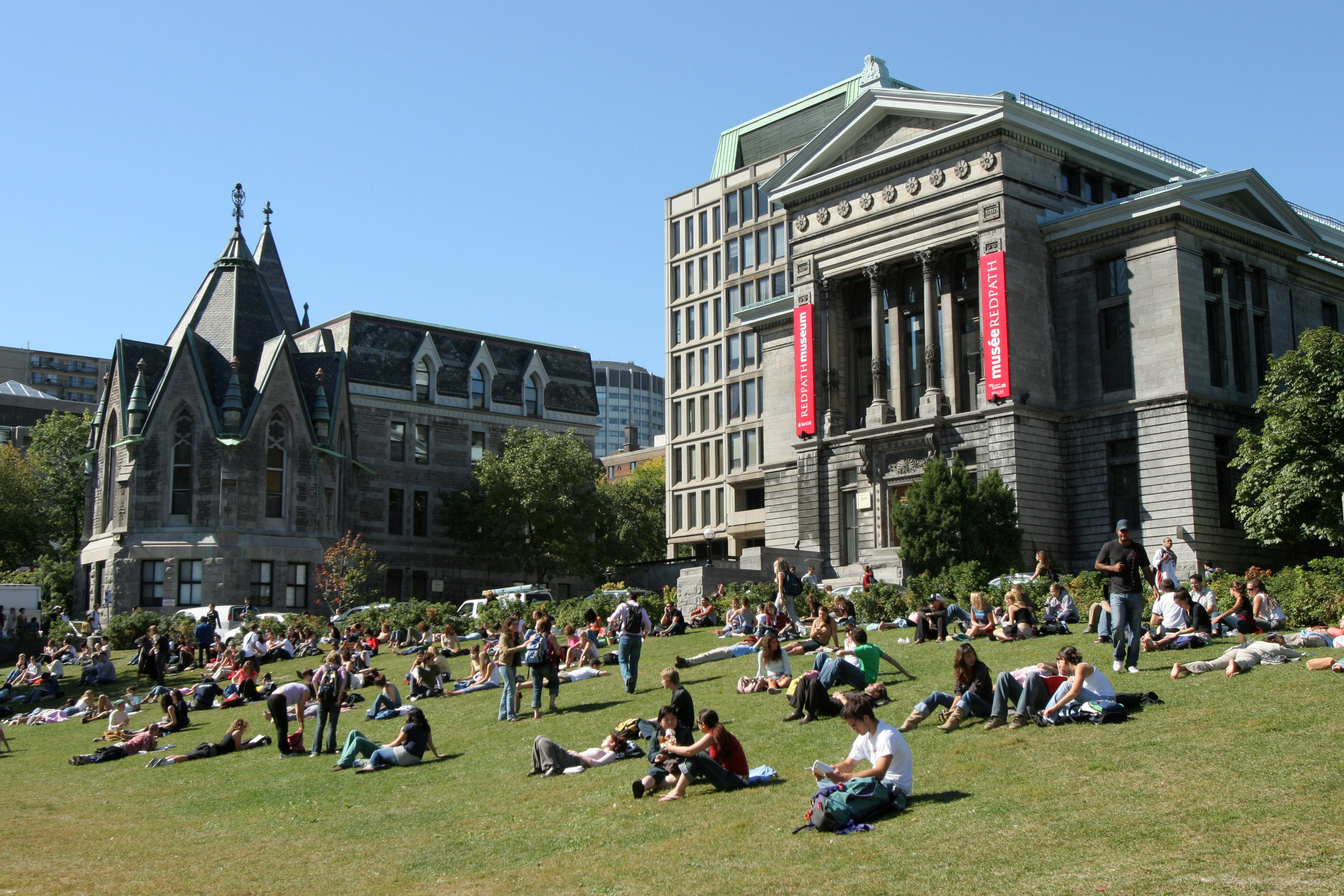 du học Canada tại đại học McGill