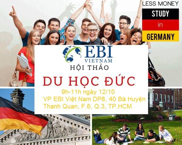 du học Đức với EBI Việt Nam