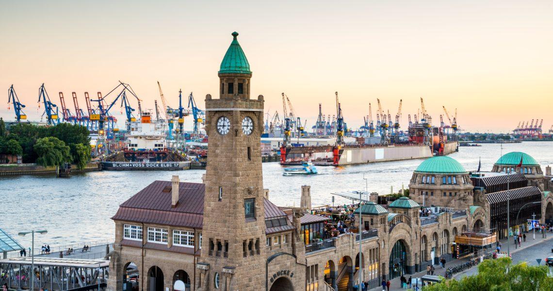Thành phố cảng Hamburg. Hình ảnh: nguồn internet.