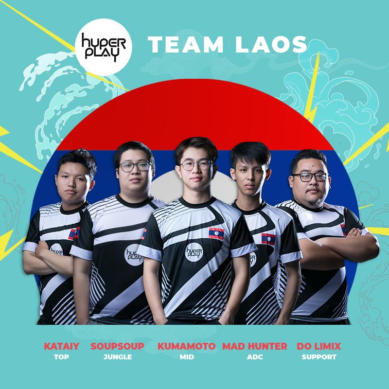 Các thành viên team Emperor tại Hyperplay 2018