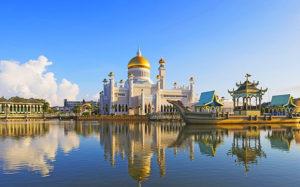 Các thánh đường ở Brunei đều được dát vàng
