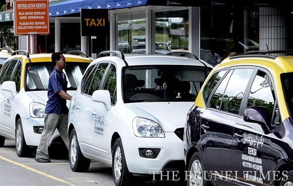 Muốn đi Taxi ở Brunei là phải gọi điện đặt trước