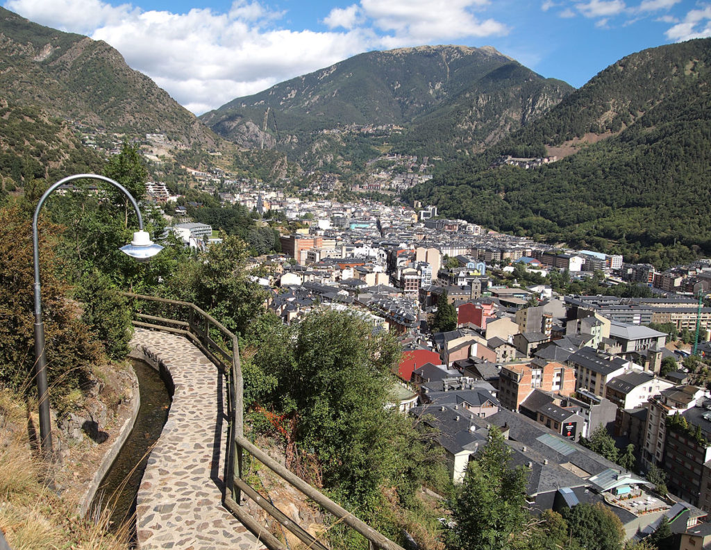 Andorra - Tây Ban Nha