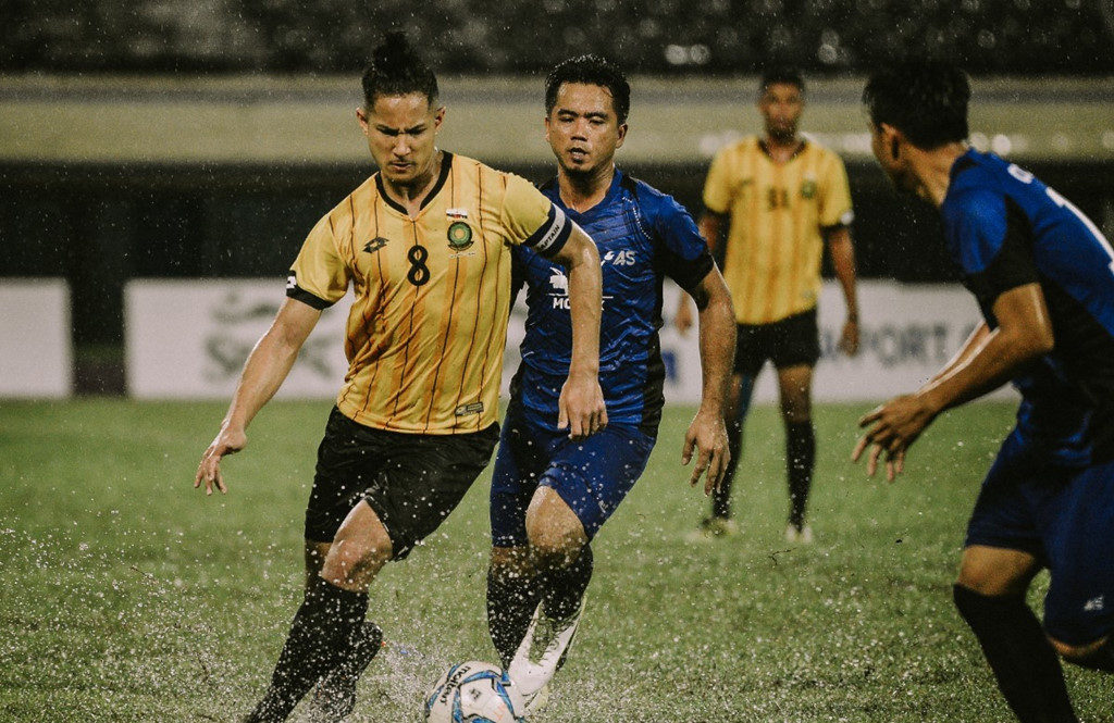 Faiq Bolkiah thi đấu trong ĐTQG