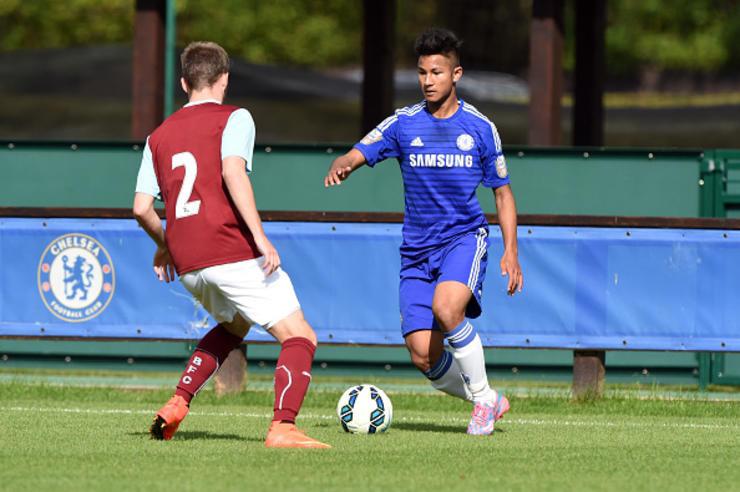 Faiq Bolkiah từng ở trong CLB Chelsea