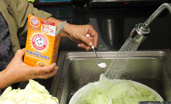 cách loại bỏ thuốc trừ sâu