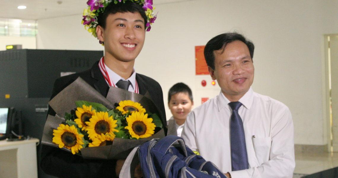 Nguyễn Thế Quỳnh giành học bổng toàn phần học viện công nghệ MIT