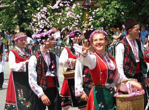 Bulgaria nổi tiếng với hoa hồng