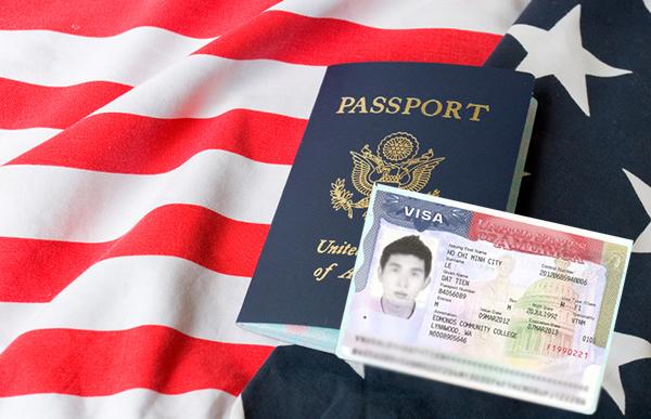 tấm hộ chiếu hoa kì