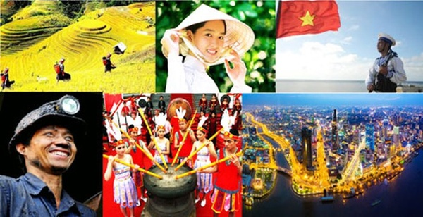 Vẻ đẹp của dân tộc Việt Nam