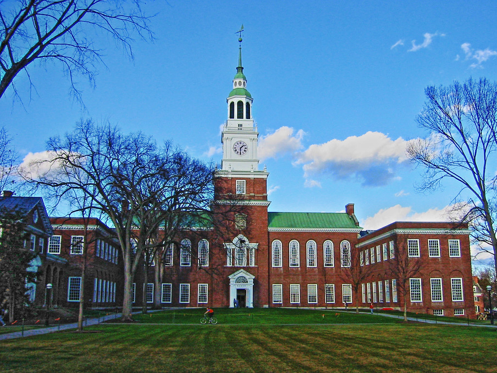 Thư viện trường Dartmouth College in New Hampshire