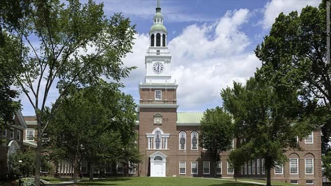Một góc trường Đại học Dartmouth