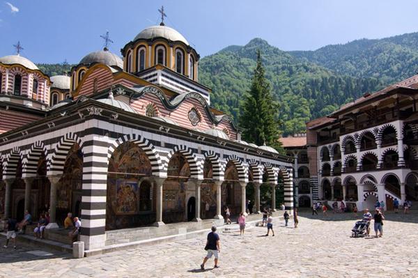 Trung tâm tôn giáo lớn nhất ở Bulgari.
