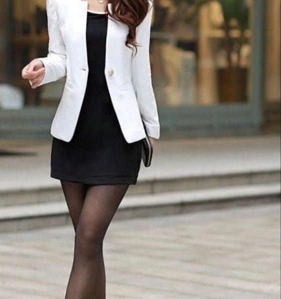 áo khoác vest trắng nữ