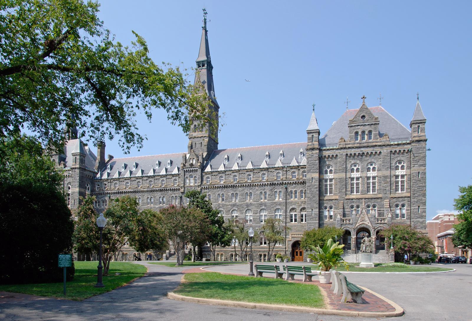 Ngôi trường Đại học Georgetown — Washington