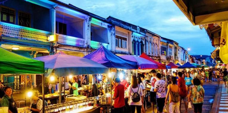 Chợ đêm ở Chiang Rai