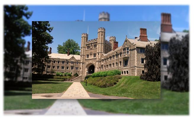 Đại học Princeton có 6 khu đại học dân cư, bao gồm ký túc xá, thư viện, nhà ăn, phòng gym,.. để phục vụ sinh viên có 1 cuộc sống tốt nhất