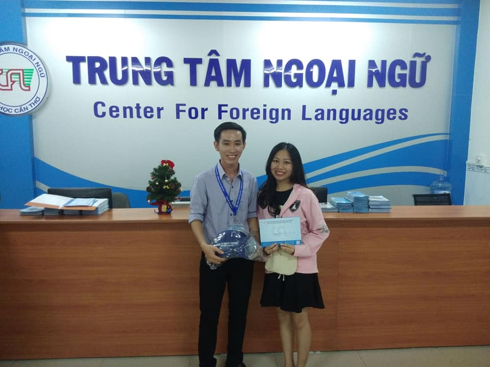 Trung tâm dạy tiếng Anh giao tiếp ở Cần Thơ này nằm ngay trung tâm thành phố, thuận tiện cho học sinh, sinh viên theo học.