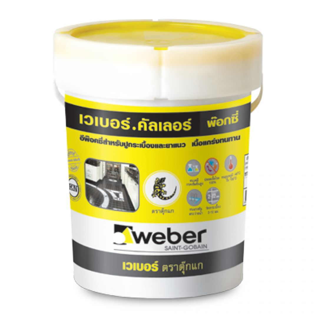 vữa chống thấm Weber