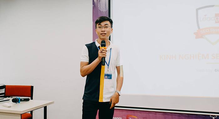 Anh Đình Tỉnh đã đưa đến người tham dự hội thảo những kiến thức nền tảng và rất quan trọng trong việc triển khai internal link ở chiến lược SEO.