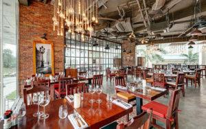 Khong gian trong nhà hàng El Gaucho Đà Nẵng
