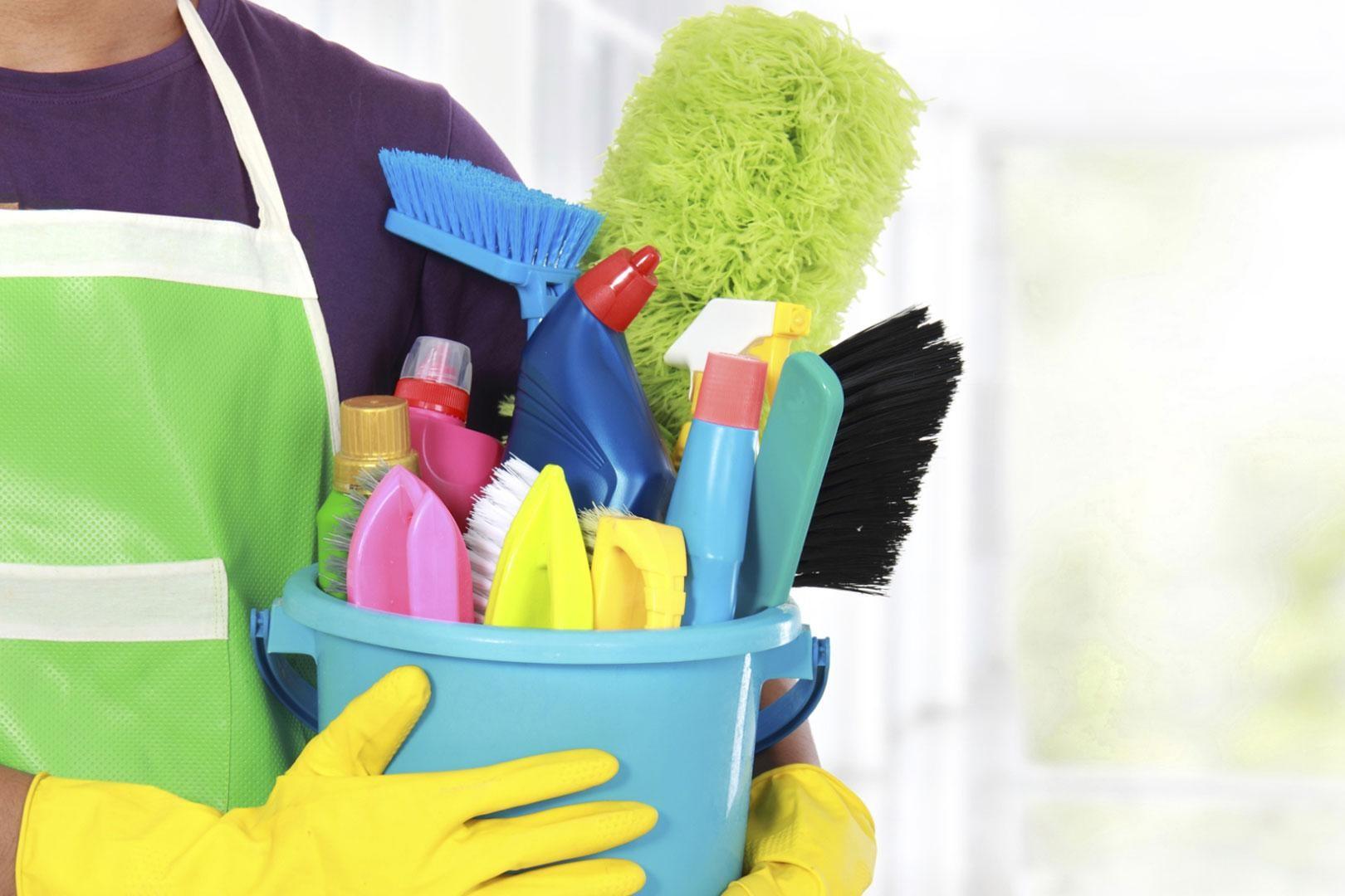 Chuẩn bị những thiết bị vệ sinh cần thiết