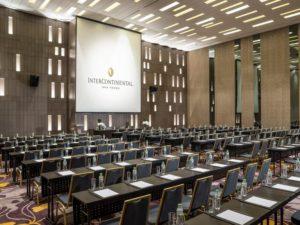 Phòng hội nghị tại InterContinental Nha Trang.