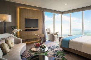 Các phòng có lối trang trí với tông màu đất, đồ nội thất bằng gỗ tại được sự sang chảnh cho bạn